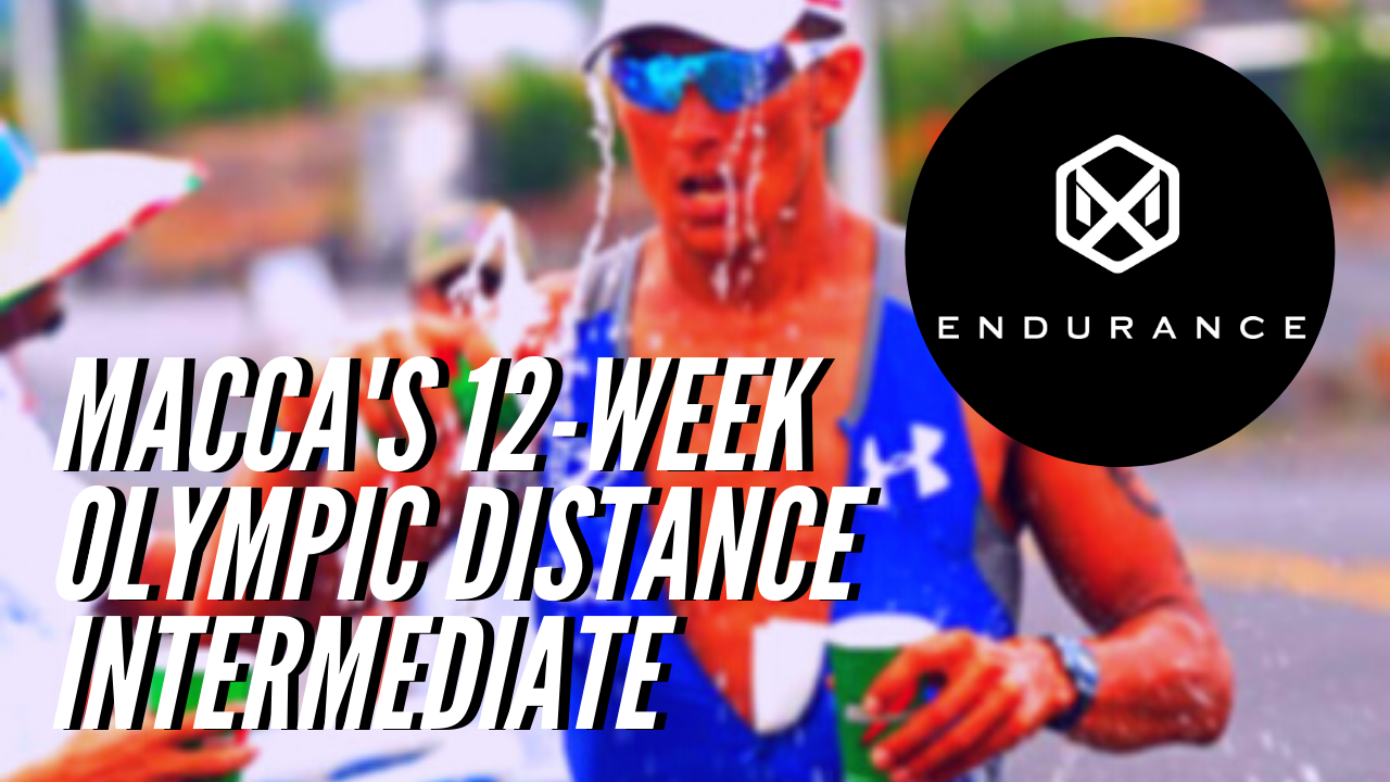 1067 Macca's 12-Week Olympic Distance - Intermediate